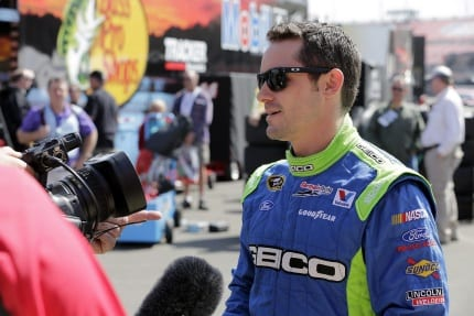 2013 ACS CUP Casey Mears on camera CIA 430