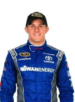 Parker Kligerman and teammate Cole Whitt could face an uncertain future if Swan Racing is unable to secure funding for the remainder of the season.