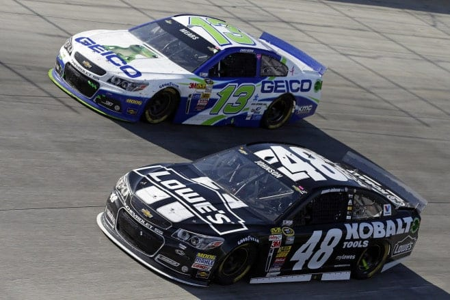 2014 Dover I CUP Jimmie Johnson Casey Mears racing CIA