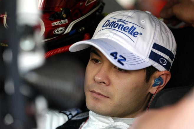 Kyle Larson is having an outstanding rookie season. Photo: CIA Editorial Photography