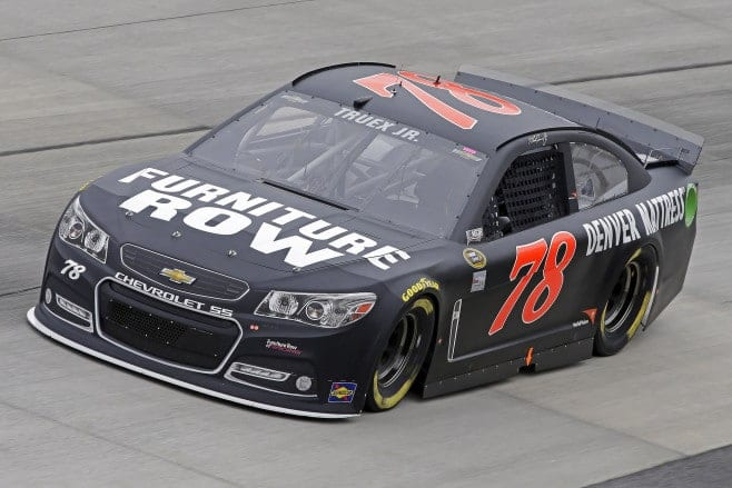 Can Martin Truex, Jr. win a second straight race at Sonoma - this time with Furniture Row Racing? (Credit: CIA)
