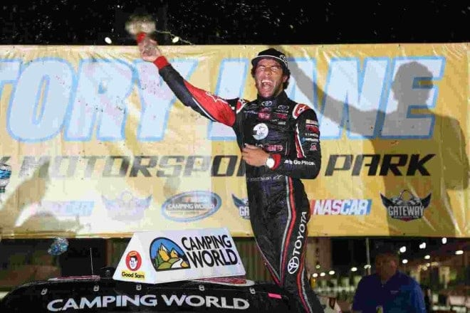 Darrell Wallace Jr.'s success in the Camping World Truck Series is great PR for NASCAR, but it's Ron Hornaday who is quietly making a title run.