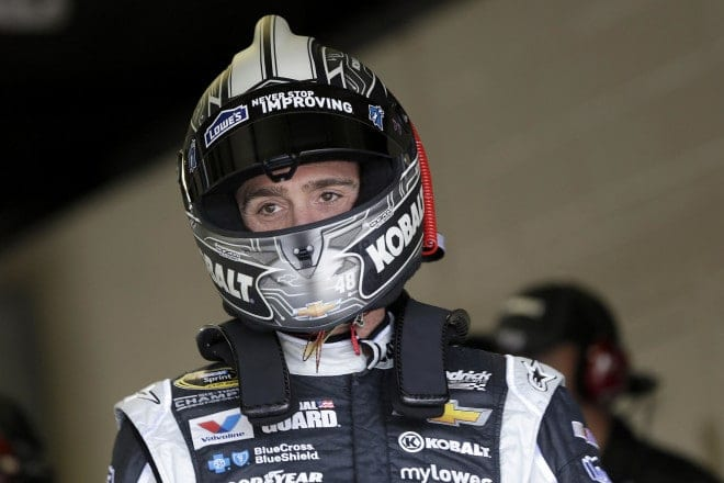 Can Jimmie Johnson help Tyler Clary achieve his goals of becoming a racecar driver?