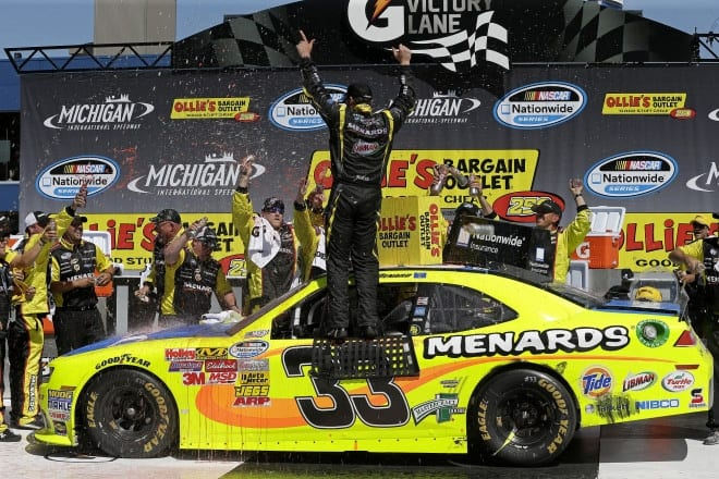 Paul Menard's Nationwide victory at Michigan marked a turnaround the entire Richard Childress Racing team is experiencing right now.