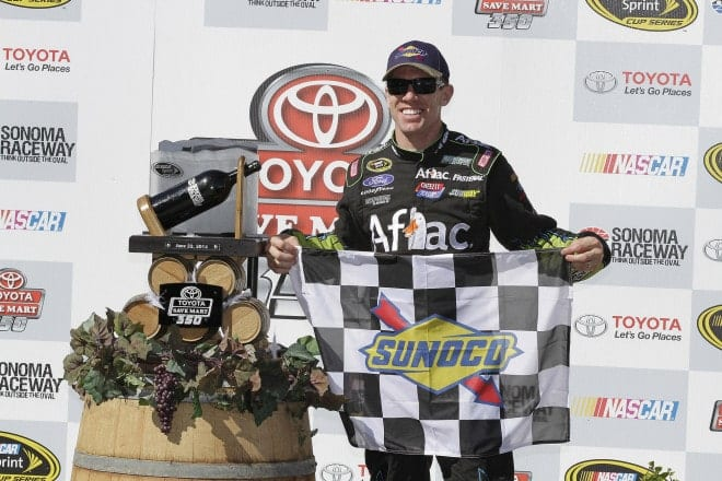2014 Sonoma CUP Carl Edwards trophy CIA