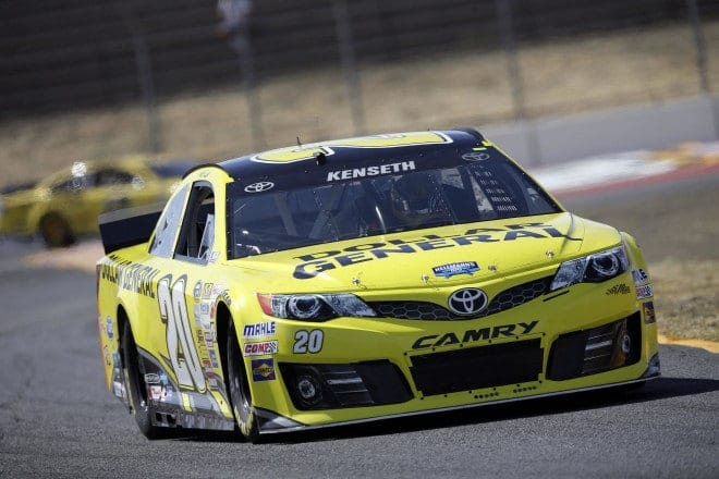 2014 Sonoma CUP Matt Kenseth car CIA