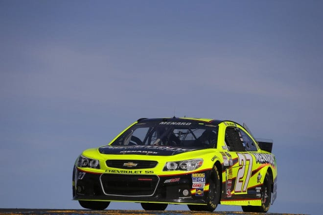2014 Sonoma CUP Paul Menard car CIA