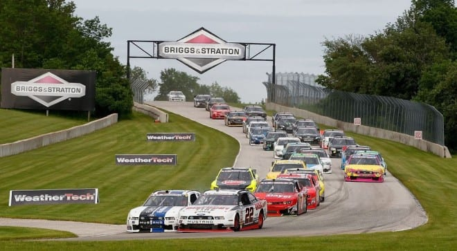 The dive into Turn One at Road America has become one of the more iconic images in NASCAR, and a saving grace for the Nationwide Series -- and for good reason. Why aren't Cup cars running here as well?