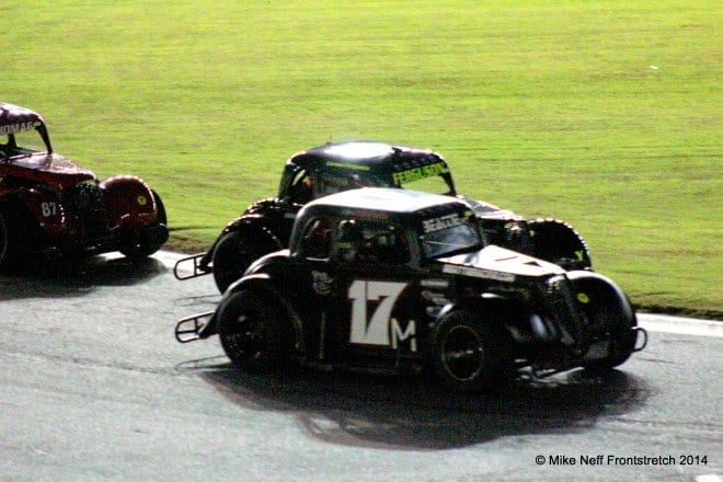 Ryan Millington battles with Carson Ferguson in the Young Lions Feature during the Summer Shootout  Photo by Mike Neff