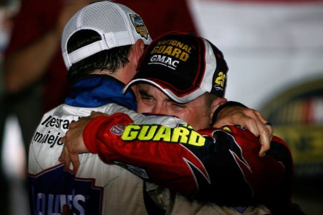 2007 Charlotte I Jimmie Johnson Casey Mears