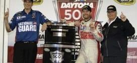 2014 Daytona I CUP Steve Letarte Dale Earnhardt Jr Rick Hendrick trophy CIA