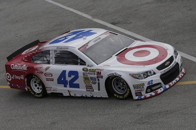 2014 Daytona II CUP Kyle Larson car CIA