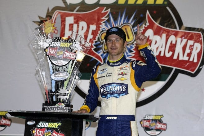 2014 Daytona NNS Kasey Kahne Trophy Credit CIA