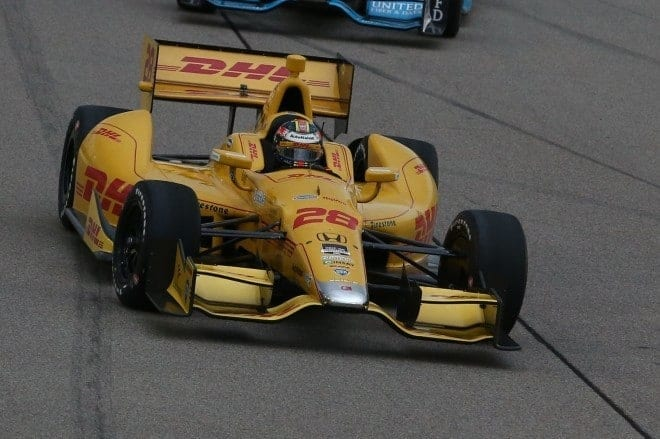 2014 IndyCar Iowa Ryan Hunter-Reay