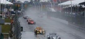 2014 IndyCar Toronto 1 failed start attempt