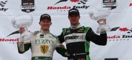 2014 IndyCar Toronto 2 Bourdais and Conway