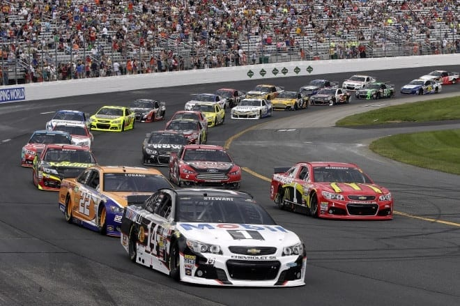 2014 Loudon I CUP pack racing III CIA