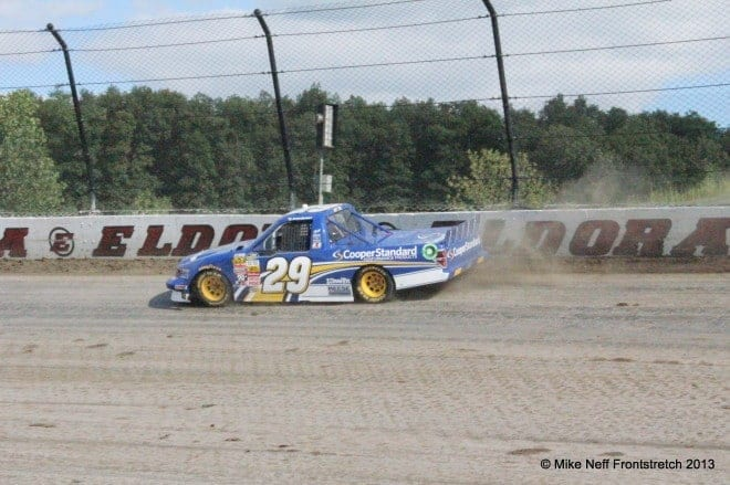 With the success of the Eldora Truck Series event, could a Cup race at the facility be on the horizon?  Credit: Mike Neff