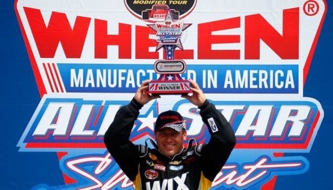 Ryan Newman gets an invite to the Whelen Modified All-Star Shootout and takes the win at New Hampshire Motor Speedway.  Credit: Getty Images