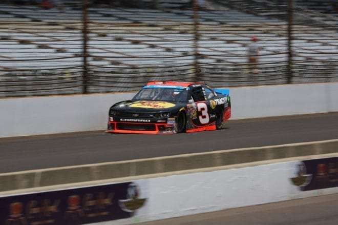Ty Dillon Indianapolis Motor Speedway 2014 Nationwide Series Mike Neff