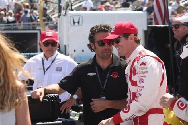 2014 IndyCar Sonoma Dion Franchitti credit Linn Ladner