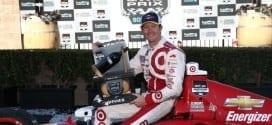 2014 IndyCar Sonoma Scott Dixon trophy
