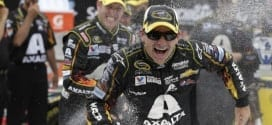 2014 Michigan II CUP Jeff Gordon champagne II CIA