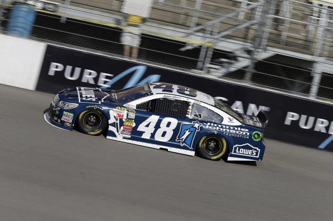 2014 Michigan II CUP Jimmie Johnson car CIA