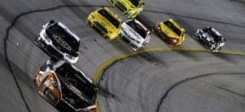 2014 atlanta cup Matt Kenseth leads kevin harvick the pack credit cia