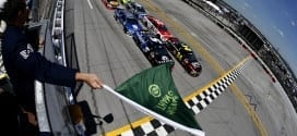 2015 Talladega I CUP  green flag credit NASCAR via Getty Images