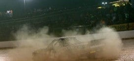 2015 Eldora CWTS  Christopher Bell burnout credit NASCAR via Getty Images