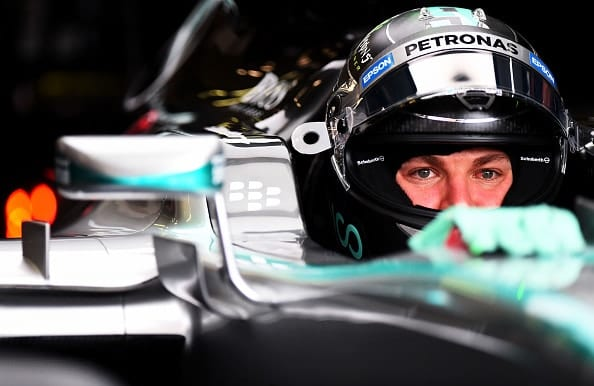Nico Rosberg during practice for the Formula One Grand Prix of Belgium at Circuit de Spa-Francorchamps on August 21, 2015 in Spa, Belgium. (Credit: Getty Images)