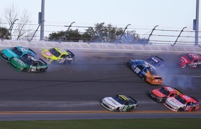 Massive Crashes Take Out Multiple Drivers Early in Daytona