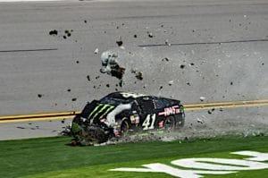Kurt Busch Clash Daytona Cup Wreck Nigel Kinrade