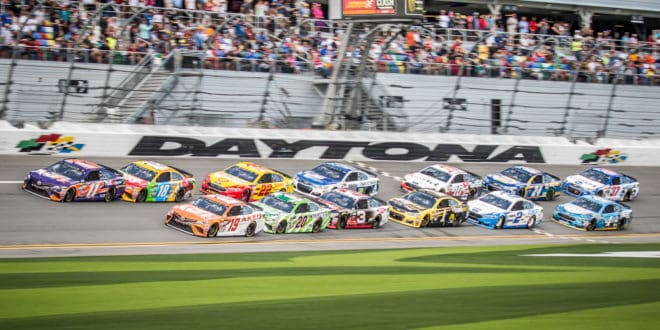 Beside the Rising Tide: NASCAR Hits The Beach