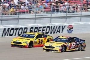2017 Las Vegas CUP Matt DiBenedetto Landon Cassill racing John HArrelson NKP